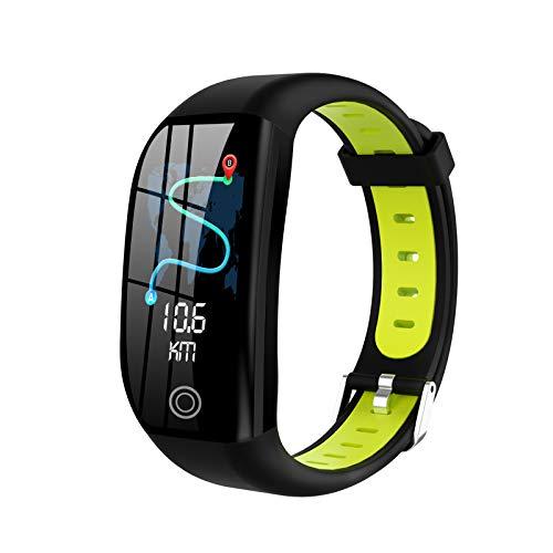 CYJ Pulsera De Actividad Inteligente Fitness Tracker,Monitor De Ritmo Cardíaco,1.14'' Pantalla Color,Función GPS,Monitoreo del Sueño Saludable,Prueba De Presión Arterial