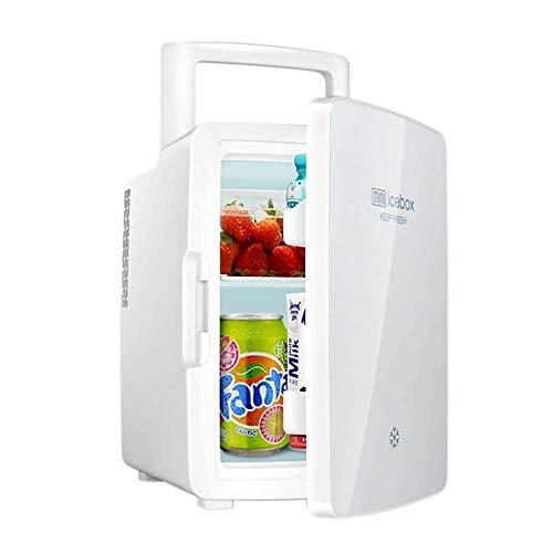 wangt Mini-koelbox, 12 l, draagbare koelkast voor auto, kleine wijnkoelkasten verwarmen/koelen camping koelkast voor op reis, barbecue