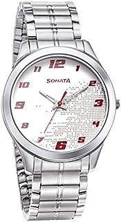 سوناتا ، مقاومة للماء، ميناء أبيض، ساعة رجالي
