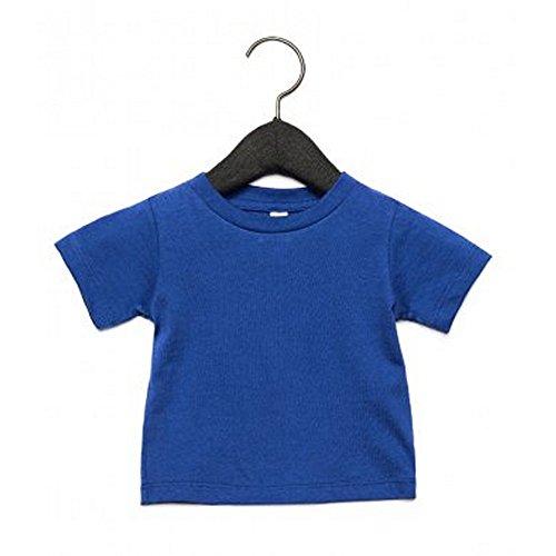Bella + Canvas Camiseta de Manga Corta con Cuello Redondo Para Bebé
