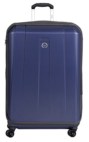 Delsey Paris Helium Shadow Hardside Luggage Expandable Spinner Trolley Collection (Navy, 29-inch)