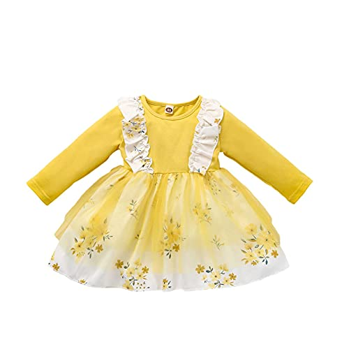 Fall Winter Clothes Infant Baby Girl Halloween Romper T-Shirt Tops Suspender Skirt Suit