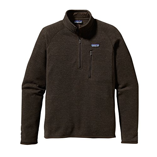 Patagonia Men's Better Sweater 1/4 Zip, Classic Navy, MD