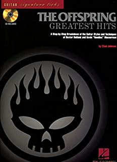 The Offspring: Greatest Hits–Guitar Signature Licks. Para Guitarra Tablatura