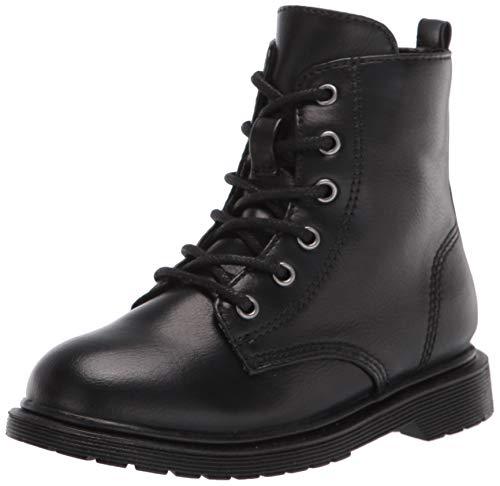 Steve Madden Girls Shoes TBETTYY Combat Boot, Black, 9