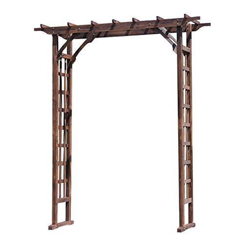 Garden Arbor Wood Garden Trellis Arch for Climbing Plants Garden Arches and Arbors - Durable Pine Wood Material - 55.1×19.6×82.6in