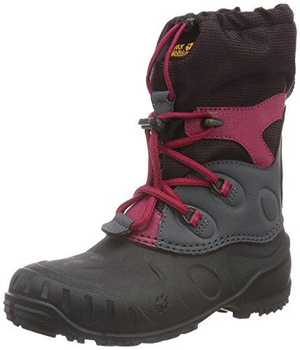 Jack Wolfskin Dziecięce buty zimowe Iceland Passage High K, różowy - Pink Azalea Red 2081-26 EU