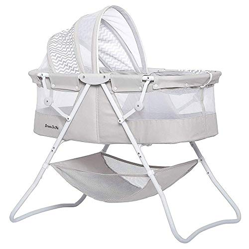 Dream On Me Karley Bassinet in Grey