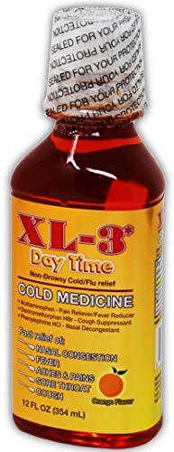 Day Time Multi-Symptom Cold Flu Relief 12 oz - Antigripal de Dia (Pack of 1)
