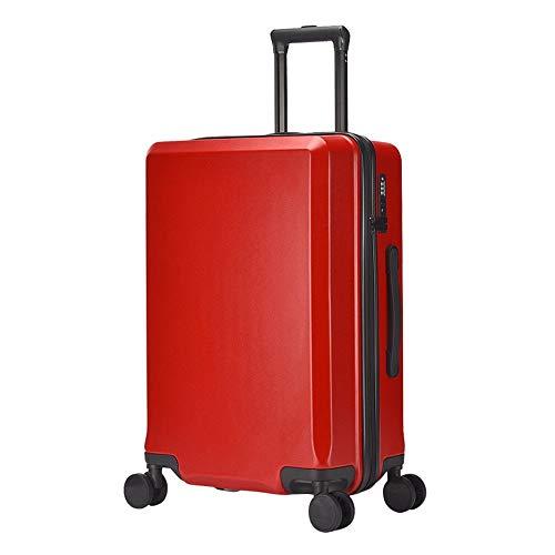 Ouqian-Bags Maleta de Equipaje Maleta portátil for Equipaje con cerraduras TSA Maleta...