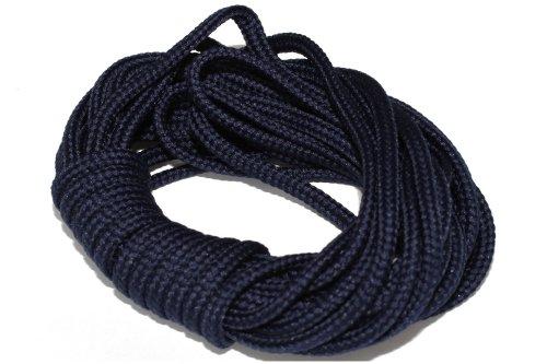 dalipo 33002 - Kordeln, Schnur 4mm, dunkelblau