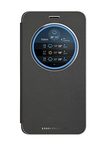 ASUS View Flip Cover Custodia per ZenFone 3 Laser 5.5' ZC551KL, Nero