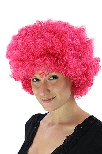 WIG ME UP  - PW0011-PC41 Pinke Afroperücke Hair Tokyo Funk Disco
