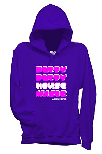 Sweatshirt Party Dirty House Music Acid House - Mush By Mush Dress Your Style - Homme-L-Violet