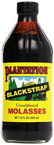 Plantación 01550003 Blackstrap Melaza insacepturada, 15 fl oz volumen