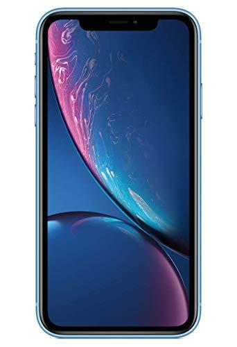 Apple iPhone XR (64Go) - Bleu (Comprend EarPods, Câble Lightning vers USB, Adaptateur Secteur USB)(Comprend EarPods, Câble Lightning vers USB, Adaptateur Secteur USB)