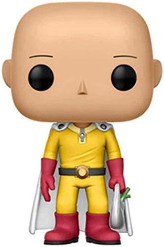 Obrand Tyrixen Funko Pop One Punch-Man Saitama 10 Figurilla de Vinilo Janpanés Anime Puppets Estatuas Juguete Collectible-One