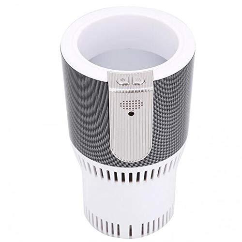 Smart chaud et froid Frigé congélation chauffage Accueil chaud Boisson frige Porte-gobelet Bureau boisson Cooler,Blanc