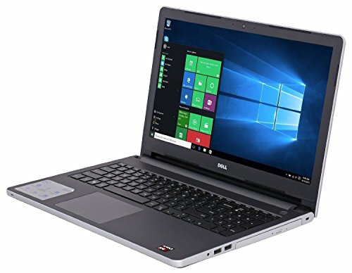 2016 Dell Inspiron 15 15.6-inch Touchscreen Flagship Laptop, AMD A10-8700P, 8GB, 1TB HDD, DVDRW, Radeon R6 Graphics, HDMI, Bluetooth, Win 10- Silver