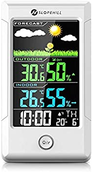 Slopehill Wireless Weather Station Hygrometer with Outdoor Sensor
