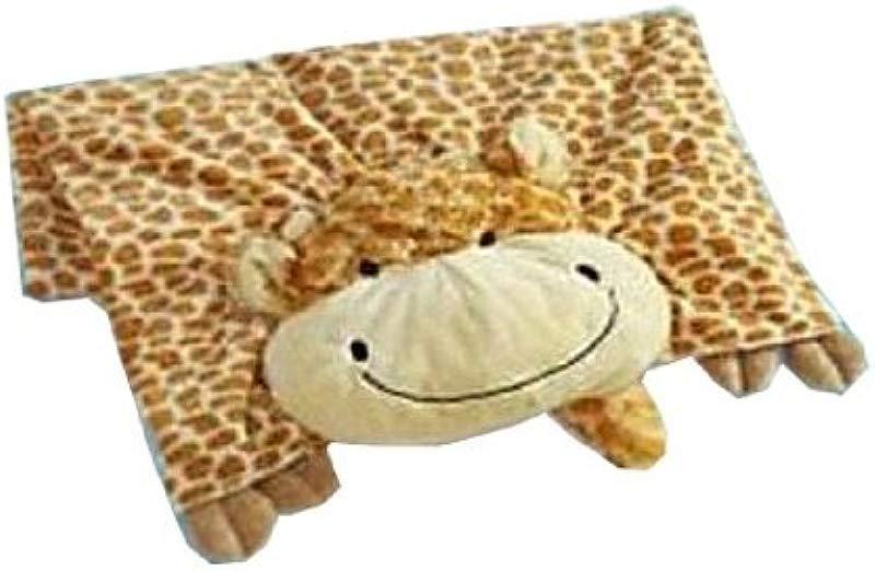 The Original My Pillow Pets Giraffe Blanket Yellow And Tan