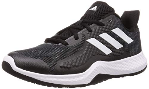 Adidas FitBounce Trainer M, Zapatillas Deportivas Hombre, Core Black/FTWR White/Core Black, 45 1/3 EU