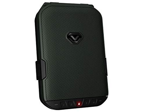 VAULTEK LifePod Secure Waterproof Travel Case Rugged Electronic Lock Box Travel Organizer Portable Handgun Case with Backlit Keypad