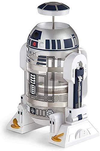 None Branded Manuelle Kaffeemaschine, R2D2 Roboter Haushalt Mini Vakuumkessel, Kaffeemaschine Mokka Druckkessel