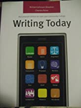 Writing Today (My Comp Lab Edition for Salt Lake Community College)