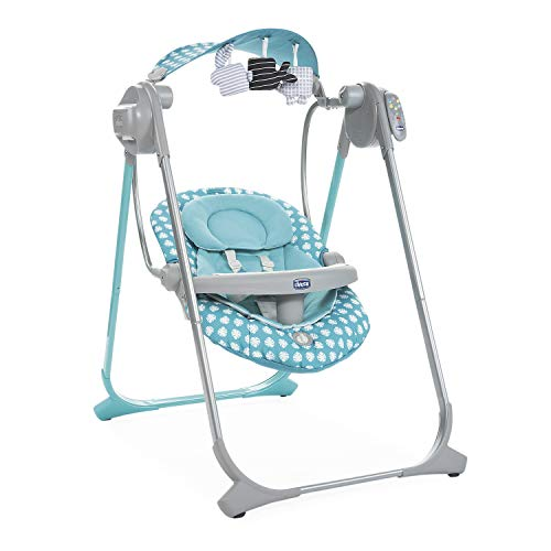 Chicco Polly Swing Up Altalena, Turquoise