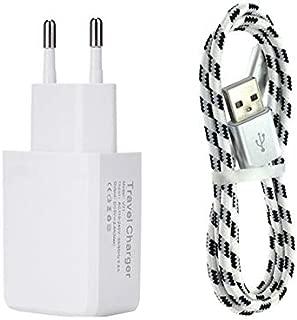 MKDASFD Cargador 7mm Nylon Micro USB USB Teléfono móvil ...