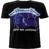 Metallica Men's Ride The Lightning Tracks BL_TS:2XL T-Shirt, Black (Black Black), XX...
