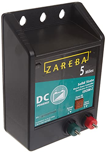Zareba 5-Mile Battery Electric Fence Charger