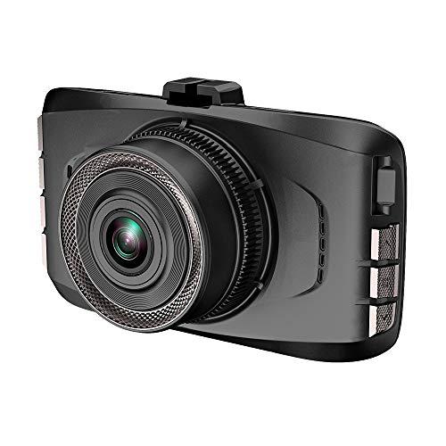 Grabador de conducción de 3 Pulgadas HD, 1080p HD 140 Grados de Ancho, Sensor de Gravedad, detección de Movimiento, grabación de Bucle, cámara de Panel de Control, grabadora de conducción con Tarjeta