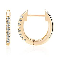 Dimention,Weight:0.07 ounces.These stunning earrings are plated in 14k gold to ensure a long lasting finish that is nickel free, lead free. A perfect gift idea for the one you love.This unique and heartfelt hoop earrings are beautifully packaged and ...