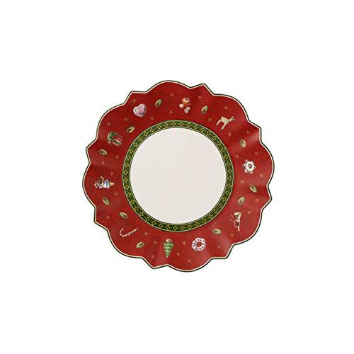 Villeroy & Boch 14-8585-2660 Plato para Pan Toy's Delight, para Navidad, 17...