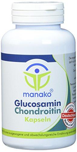 manako Glucosamin und Chondroitin Kapseln, 120 Stück, Dose a 96 g (1 x 120 Kapseln)