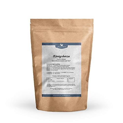 Königskerze in sehr hochwertiger Qualität, frei von jeglichen Zusätzen, als Tee oder für Pferde und Hunde (Verbascum densiflorum) – 100 g