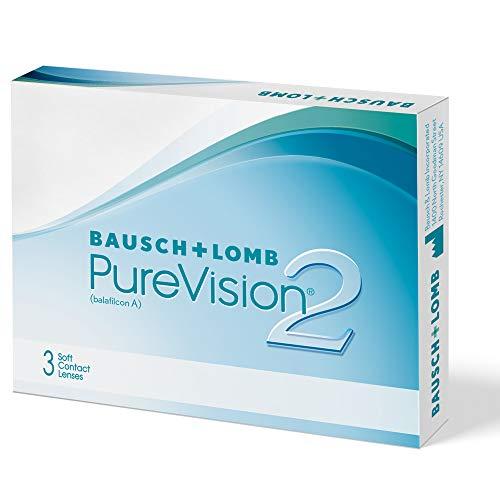 PureVision2 HD Monatslinsen weich, 3 Stück BC 8.6 mm / DIA 14 / -10 Dioptrien