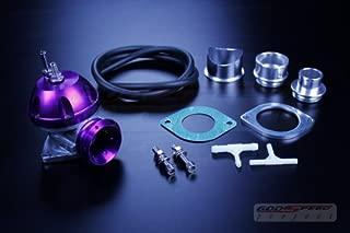 Godspeed Gen2 Type-rs Bov Recirculate Blow Off Valve/ Borg Warner Garrett Turbo /Purple for ALL Honda , Accord , Accord Wagon , Civic , Civic Si , Civic Type-r , Ep3 Civic , CRX , CRV , CRZ Cr-z , DEL SOL , FIT , Prelude , S2000 S2k