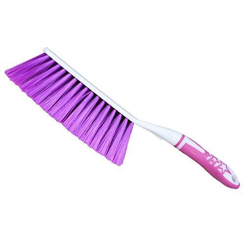 Pucidder reinigingsborstel met lange handvat stofverwijdering borstel vloer reinigingsborstel plastic reinigingsborstel auto bed binnenshuis vegen