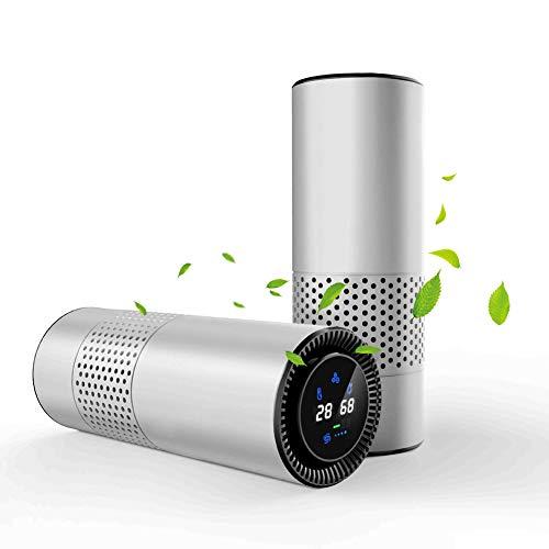 Kleine allergische luchtreiniger, HEPA-filter, actieve-koolstoffilter, negatieve-ionengenerator, stofverwijdering, ontgeuring, 4-laags filter, voorkomt in de lucht, anti-allergeen,B