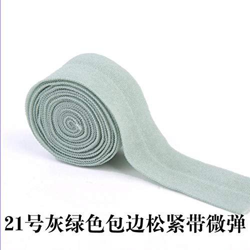 20mm brede elastische banden voor het naaien van ondergoed broek BH Elastico A Metro Brede elastische tailleband zacht, 21,20 mm