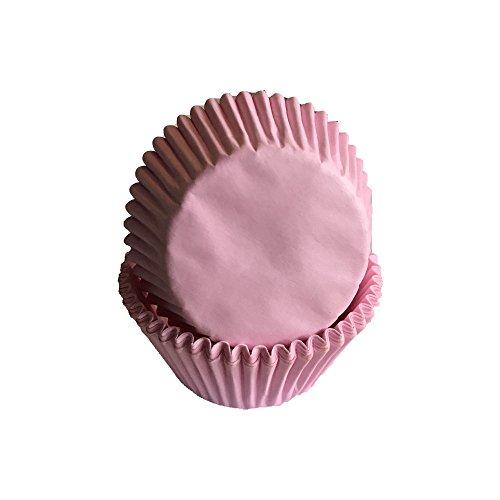 Lot de 50 caissettes à muffins en papier pour cupcakes Rose