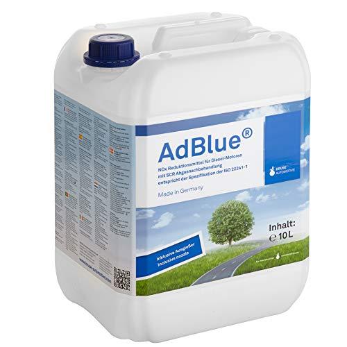 A&G-heute AdBlue 10l Hochreine SCR Harnstofflösung mit Ausgießer Reduktion für alle Automarken im Kanister