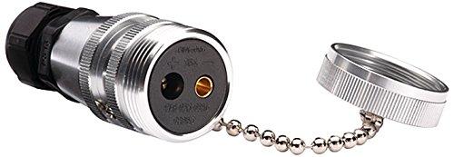 HELLA 8JB 002 281-011 Steckdose mit Schraubkontakt, 6 bis 12 mm², 2 –polig, 42 V