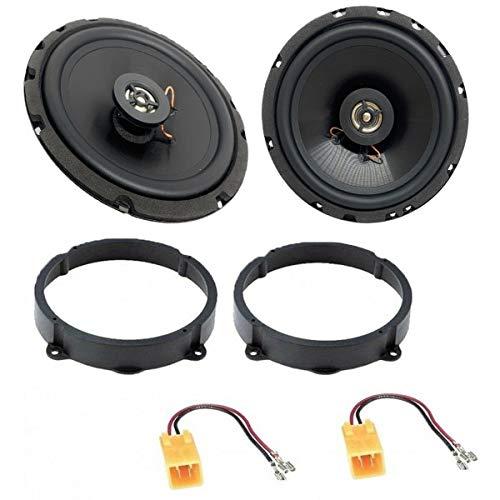 Sound-Way - Kit Completo con adaptadores de Montaje con Altavoces para Alfa...