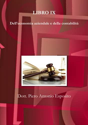 Dell'economia aziendale e della contabilità: Libro 9
