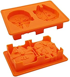 Star Wars Millennium Falcon (Force Awakens) Silicone Mold - Custom Silicone Molds from Bakell