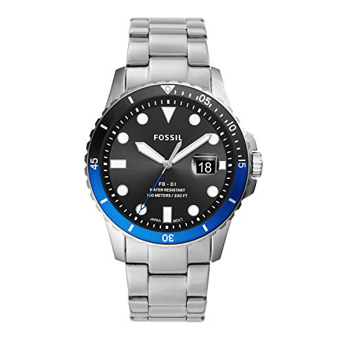 Fossil Men's FB-01 Quartz Watch with Stainless...